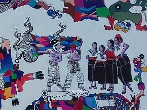 Mayan.Mural.Vid