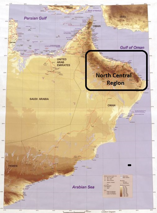 North Central Oman
