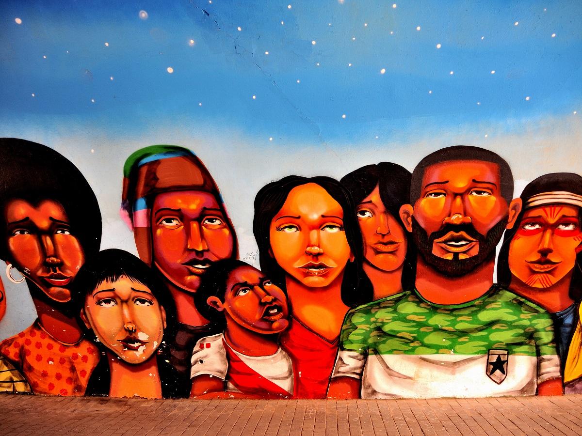 Street Art in Lima,Peru