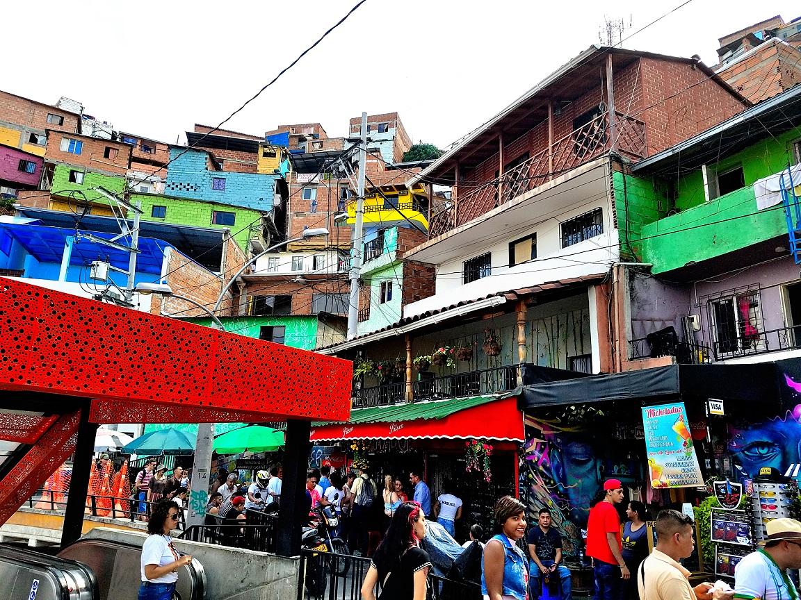 Medellin's Comuna 13–Violent Barrio Turned TouristMecca