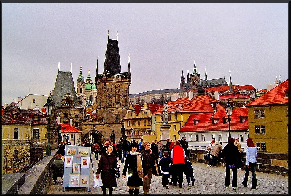 Towers, Turrets and Spires: Postcards from Prague