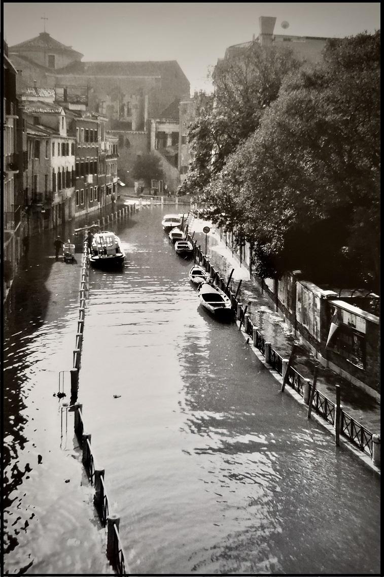 Venice in Moody Black andWhite